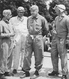 1947 swiss gp, bremgarten - maurice trintignant dnf, emanuel de graffenried 9th, jean-pierre wimille 1st, luigi villoresi 6th | by Cor Draijer