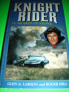 KNIGHT RIDER #3 HEARTS OF STONE 1984 1ST PRINTING PBO