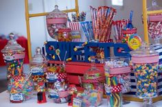 Circus / Carnival Birthday Party Ideas | Photo 4 of 82