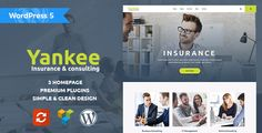 Buy Yankee - Insurance & Consulting WordPress Theme by modeltheme on ThemeForest. Want to create an incredible Multi-Concept Business WordPress Theme website? Sick of testing and evaluating themes? Website Templates, Html Templates, Theme Template, Page Template, Wordpress Theme Design, Premium Wordpress Themes, Design Responsive, Wordpress Template, Wordpress Plugins