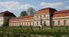 Orangerie, Charlottenburg Palace (1695-1713), styles: baroque, rococo; Architect Johann Arnold Nering