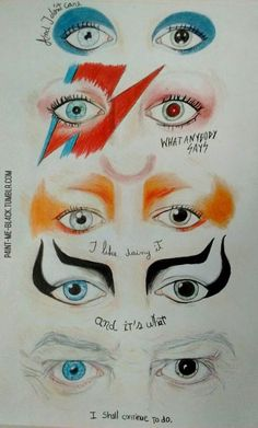 Account Suspended Little Wendy Cocaine ( David Bowie Kostüm, David Bowie Makeup, David Bowie Starman, David Bowie Tattoo, David Bowie Labyrinth, Bowie Ziggy Stardust, Ziggy Played Guitar, Goblin King, We Will Rock You
