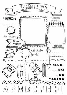 Pre K Worksheets, School Coloring Pages, Doodle, Planner Pages, School Projects, Holidays And Events, Classroom Management, Classroom Decor, Kids Learning