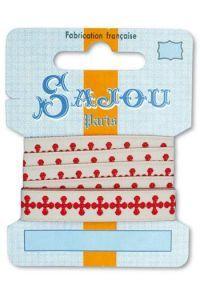 Sajou Band Motiv 1 Kollektion Comptoir 1m Karte