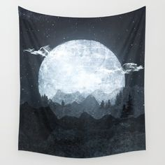 Buy Moonrise Wall Tapestry by Tracie Andrews. Worldwide shipping available at Society6.com. Just one of millions of high quality products available.