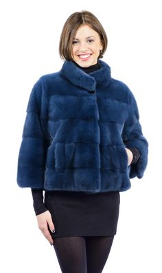 Giacca visone diaspro- mink jacket Fur Fashion, Winter Fashion, Womens Fashion, Mink Jacket, Fur Clothing, Fabulous Furs, Mink Fur, Jacket Style, Fur Coat
