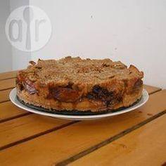 Foto da receita: Bolo de maçã para o Pessach