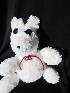 Teddy Bear Fluffiefriend Small by Violet's Silver Lining on Etsy, $10.00