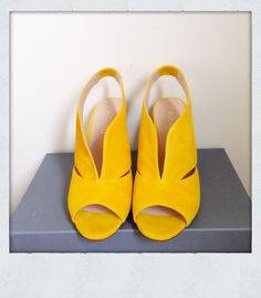 Yellow shoes from Minelli