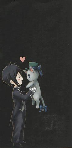 Sebastian loves cats:3