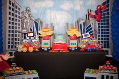 Festa Infantil Super Heroes