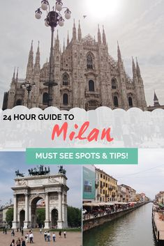 City guide: Spending 24 hours in Milan, Italy, TRAVEL, City guide: Spending 24 hours in Milan, Italy. Europe Destinations, Bon Plan Voyage, Things To Do In Italy, Italy Travel Tips, Travel Europe, Solo Travel, Travel City, Disney Travel, Visit Italy