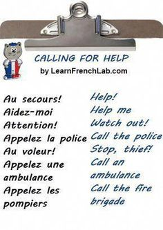 Study French Survival Phrases with Audio earlier than going to France. French Language Lessons, French Language Learning, French Lessons, German Language, Spanish Lessons, Japanese Language, Spanish Language, Basic French Words, French Phrases