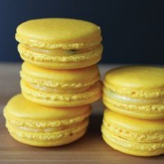 Passionfruit Macarons