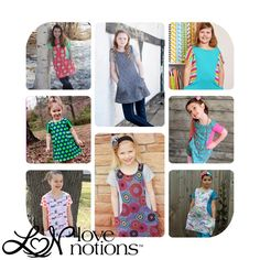 The trendy tunic pattern, video tutorial on the pockets.
