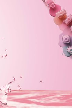 pink simple essence cosmetics promotion poster More than 3 million PNG and graphics resource at Pngtree.