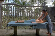 A massage by the Sea. Can LIFE get better than that?