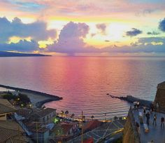 Amazing #sunset in Pizzo - Calabria #sea #landscape #panorama #horizon #look #summer