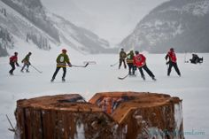 Hockey on the frozen lake Backyard Ice Rink, Sea To Sky Highway, Hockey Rules, Outdoor Life, Outdoor Living, Adult Fun, Search And Rescue, Ice Hockey, Wanderlust