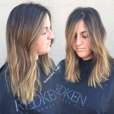 Joined @casciani_hair in doing this beautiful balayaged look! Now training with @casciani_hair at Evolution the Salon💆🏼 Stay tuned for some more gorgeous looks 💋