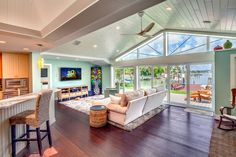 Ranch House Renovation:  contemporary living room update! [Houzz]