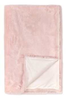 Buy Light Pink Faux Fur Throw from the Next UK online shop