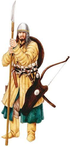 Воин Сибирского Ханства