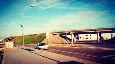 """El desaparecido """"scalextric"""". Antiguo enlace N-V y N-630. #Mérida #lascarreterasdeextremadura"""