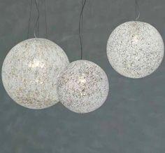 Rina suspension light designed by Barbara Maggiolo for Vistosi