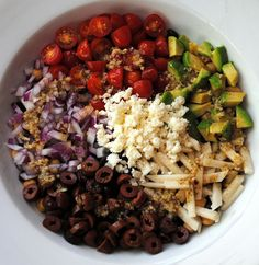 Fiesta Bean Salad! A fast and delicious salad! It's #glutenfree and #vegetarian too!