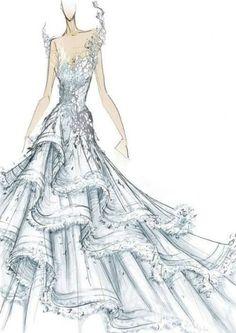 Katniss' wedding dress!