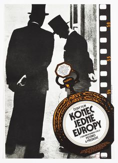 Vintage Movie Poster  The End of Europe Poster by jozefSquare