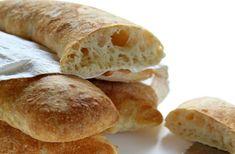 La Ciabatta fatta in casa Italian Desserts, Italian Recipes, Bread Recipes, Cooking Recipes, Pizza, Ciabatta, Sweet Bread, Baking, Breakfast