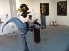 The McLoughlin Gallery at SCOPE with artists Arnix and Niccolò Montesi. Join us at Booth C51!!