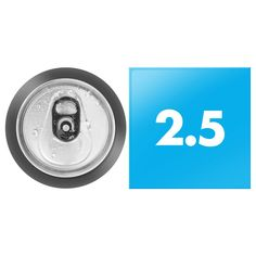 2.5 inch square button next to standard usa soda can