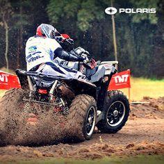 Todo el control y potencia que buscas en una ATV ¡Llega más lejos! #GoPolaris