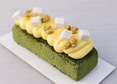 Bizcocho de té matcha y pasión sin gluten para #Mycook http://www.mycook.es/cocina/receta/bizcocho-de-te-matcha-y-pasion-sin-gluten