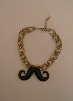 Kupuj mé předměty na #vinted http://www.vinted.cz/zeny/naramky/9248049-naramek-mustache-za-nizkou-cenu