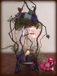 Fairy Fantasy in a jar......