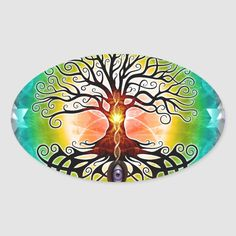 Tree of life, not as much as the abstract, geometric version, but more in a traditional sense. Symmetry, depth and vibrant colors are the main focus of this artwork. Size: x inch (sheet of Gender: unisex. Tree Of Life Artwork, Tree Of Life Painting, Painting Art, Tree Of Life Meaning, Tree Of Life Symbol, Rock Painting Ideas Easy, Tangle Patterns, Life Drawing, Color Tattoo