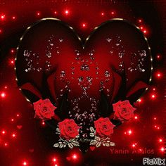 The perfect Corazon Rosas Rojas Animated GIF for your conversation. Discover and Share the best GIFs on Tenor. Beautiful Gif, Beautiful Roses, Hearts And Roses, Red Roses, Coeur Gif, Corazones Gif, Roses Gif, Beau Gif, Animated Heart