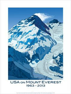 Mount Everest Commemorative Poster is now available - Himalayan Stove Project