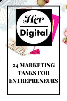 The problem with being an entrepreneur is that instead of having different departments that handle different elements of the business, you have to do it all yourself! This includes marketing, which in some cases can make or break a business. So we've put together some individual marketing tasks that can help boost your business.