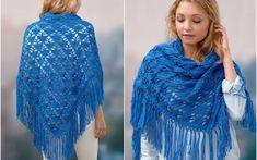 Klaziena Crochet Shawl Free Pattern   Crafts Ideas
