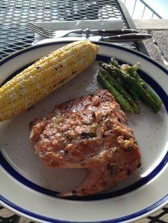 FIRECRACKER SALMON!    #healthy #dinner #katherineinthekitchen #fish #salmon #grill #lake #mothersday    http://katherineinthekitchen.blogspot.com/2012/07/firecracker-salmo.html