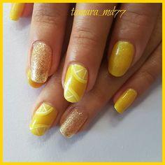 @jadedraisinss 's Beyonce lemonade nails. #nails #nailswag #nailingtoronto @karanailsnspa #karanailsnspa #toronto #torontoartist #nailart #nailartist #nailporn #nailprodigy by tamara_md77