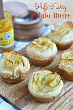 Puff Pastry Potato Roses