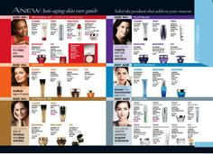 Which ANEW Skincare Regimen is right for you? If Anti-Aging is your concern, then the ANEW line of products is probably best for you. These products definitely work. I've seen a difference in my mom's skin since she started using them almost three years ago when I became a Rep. Customers swear by these products as well...that's why they're so popular!