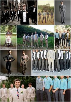 Groom and Groomsmen Attire | So have a look at these Inspiration Boards and see if you can get any ...