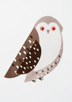 Illustration // Print // Snowy Owl